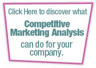 Discover what Competitive Marketing Analysis can do for your company.