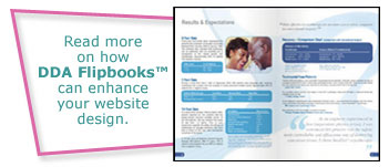Read more on how DDA flipbooks can enhance your website design.