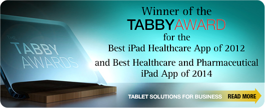 Winner of the TabbyAwards for the Best Healtcare App of 2012. Read More