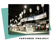 Trade Show Booth Design for Oncura